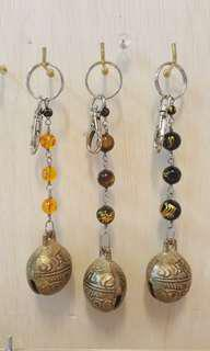 Bell Charm Key Chain (Hand make product)