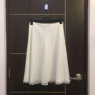 Customized Cream Skirt