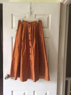 H&M flair skirt