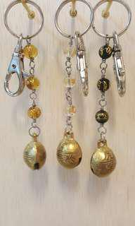 Charm bell Key Chain (Hand make product)