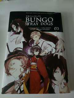 Bungou Stray Dogs Manga