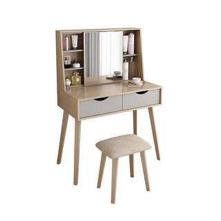 🚚 Dress Table with Mirror