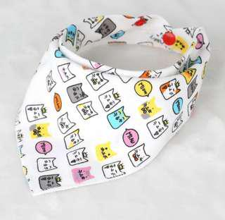 Baby/Toddler Bandana Burp Cloth Bib