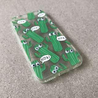 🚚 Googly Eyes Cactus Pattern iPhone Case
