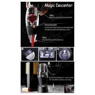 Magic Decanter Essential Wine Decanter/Wine Aerator A0742