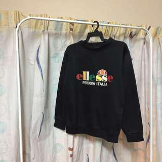 🔥Ellesse Multicolor Logo Sweatshirt Black🔥