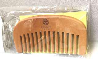 Ling Lee無添加天然木梳 (Natural Wood Comb) *包平郵