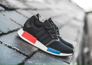 Adidas NMD japan bw OG BLACK/RED/BLUE