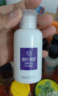 White Musk 60ml Shower Gel