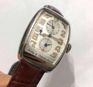 "Dubey & Schaldenbrand Watch Dual Time ""tag"" omega Rolex"