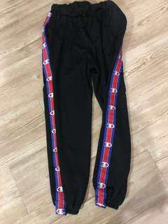 Fake Champion Side tape Pants