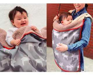 🚚 3 in 1 Waterproof Baby Carrier cloak/ blanket