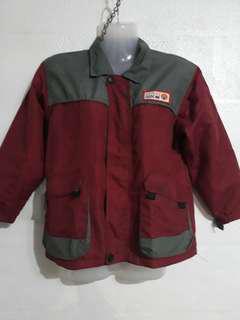 Wetproof hooded jacket