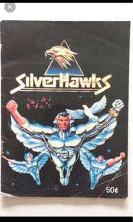 LF looking for Vintage Silverhawks Sticker book F&N