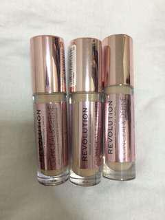 Makeup Revolution Conceal & Define Concealer #mcsbeauty