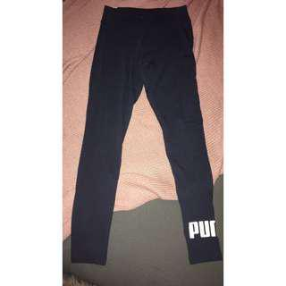 BNWT Blue Puma leggings