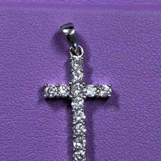 (reduced!!!) diamond cross pendant from SooKee (750 hallmarked)