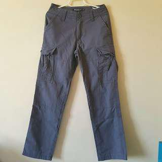 Hang Ten cargo pants gray