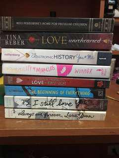 Preloved novels for SALE