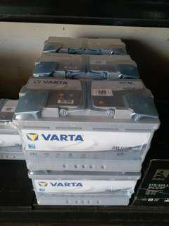 VARTA Silver Dynamic AGM car battery (made in Germany) for Mercedes & continental cars esp w stop/start features - see website for prices (see description inside)