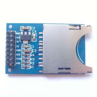 SD Card Slot Reader Module for Arduino