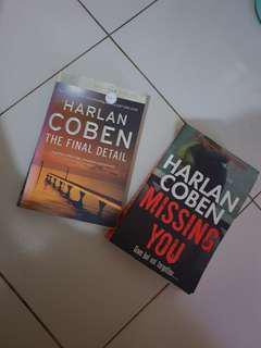 Harlan books 😍
