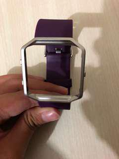 Fitbit blaze replacement strap with frame