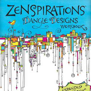 🚚 Limited quantity . Zenspirations Dangle Designs . a worbook by Joanne Fink . new copy