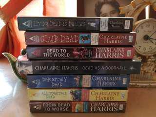 HBO TrueBlood series (based on Sookie Stackhouse novels by Charlaine Harris)