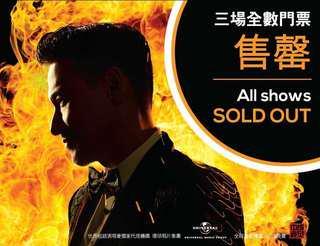 (VIP x2) Jacky Cheung A Classic Tour - 6th Oct 2018