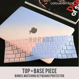 Ombre Pastel Macbook Apple Laptop Sleeve Casing Hardshell