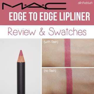 MAC Lip Liner Pencil in Edge to Edge
