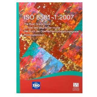 SS ISO 8501-1 2007 - The Rust Grade Book Preparation of Steel Substrates - Swedish Standards