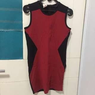Mphosis Red Dress