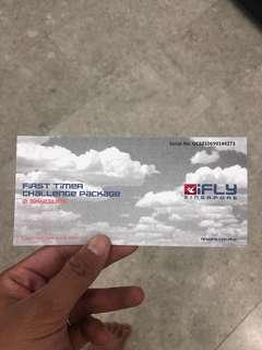 iFly Singapore (First Timer Challenge Package)