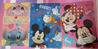 Disney plastic folder