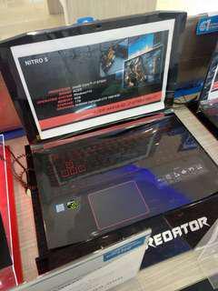 Laptop Acer Gaming New Nitro 5 Core i7 (Cicilan Tanpa Kartu kredit 3Mnt)