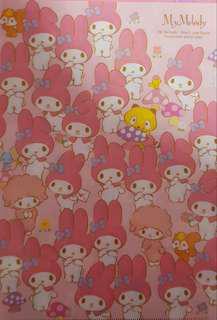 Melody plastic folder from Japan