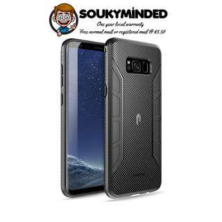 61c401ac7  IN-STOCK  Poetic Karbon Shield Slim Fit Galaxy S8 Plus Case with Anti