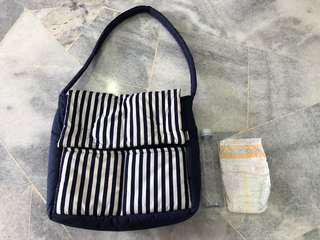 Baby portable changing diapers bag