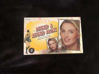 Benefit Defined and Refined Brows 02