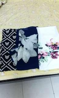 Printed Long shawl 3 for RM25