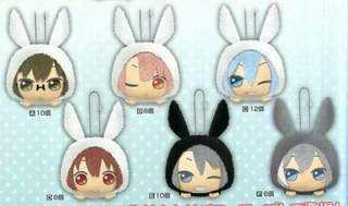 [PO] IDOLiSH7 fluffy rabbit pakra hoodies