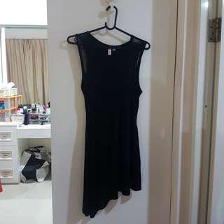 Penshoppe Asymmetrical Little Black Dress