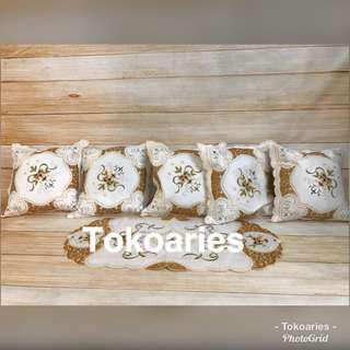 Sarung bantal sofa minimalis / sarung bantal keren