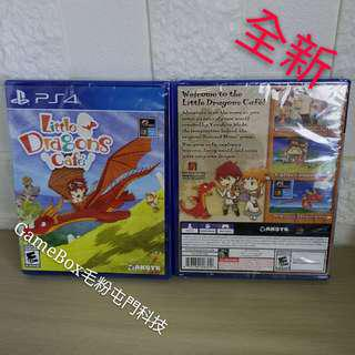 全新PS4 小龍咖啡館 英文版