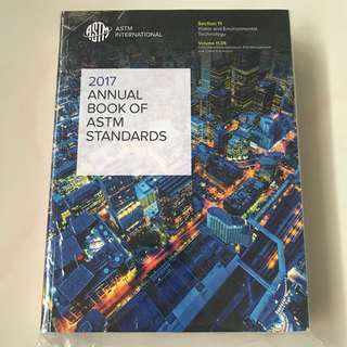 ASTM 2017 Annual Book Of Standards Volume 11.05 - Water and Environmental Technology