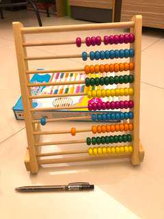 10 Grades of Abacus Calculations