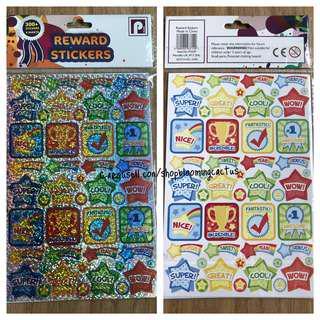 (Sold) New! Student Reward Laser Sticker for Teachers