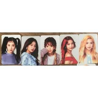 [PO] RED VELVET Red Room Collect Book Official Photocards